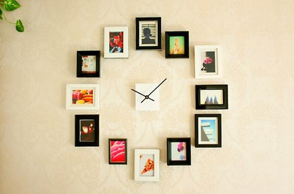 ΦΤΙΑΞΕ ΜΟΝΟΣ ΣΟΥ: Ρολόι τοίχου με κορνίζες