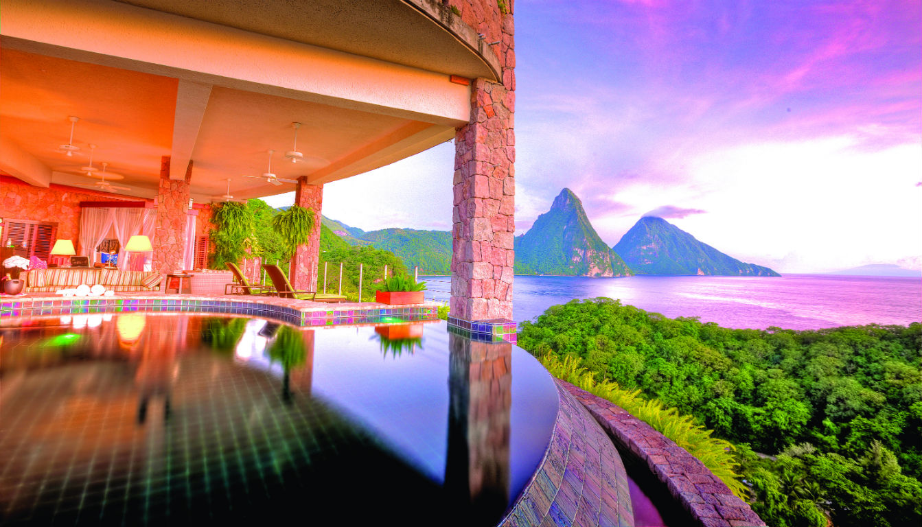 Jade Mountain,Αγία Λουκία (St. Lucia)