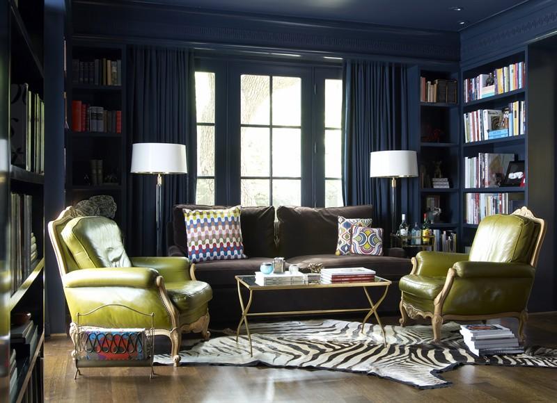 Διακόσμηση σπιτιού και Ιδέες διακόσμησης για το σπίτι με σκούρο χρώμα στους τοίχους