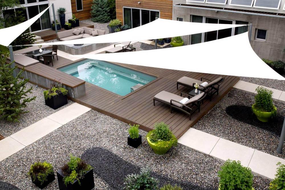 Καταπληκτικές ιδέες για να ετοιμάσετε τον πιο όμορφο καλοκαιρινό κήπο με πισίνα.