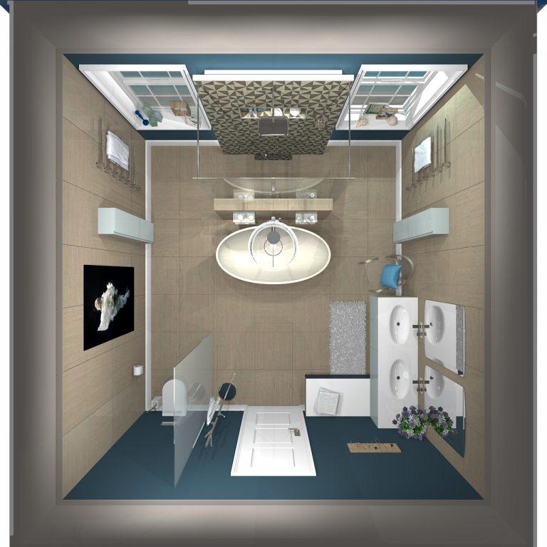Ιδέες για τη διαμόρφωση μικρού μπάνιου.