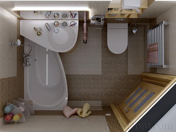 Μικρό μπάνιο.
