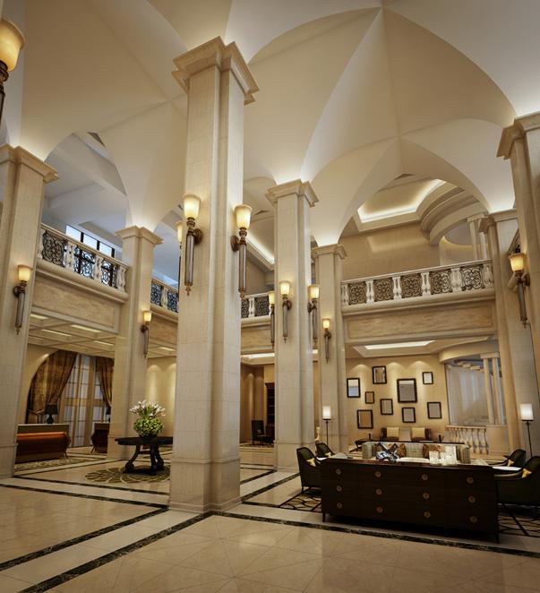 Ένα ξενοδοχείο χτισμένο ως κάστρο στην Κίνα.